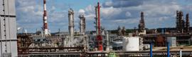 システムは、リトアニアの製油所でのIndigoVisionのIPビデオ監視を配備
