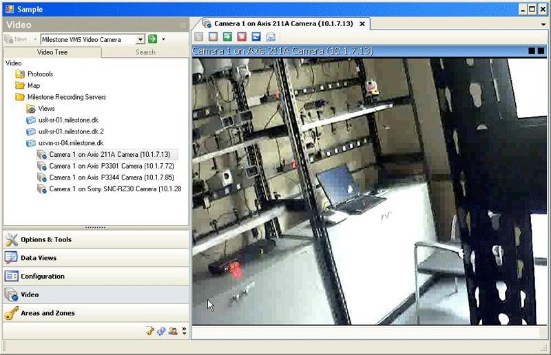 milestone arcus facilite la migration de surveillance ip faible co t magazine de s curit. Black Bedroom Furniture Sets. Home Design Ideas
