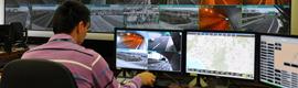 IndigoVision的保证交通在雅典阿提卡收费公路的正常流动