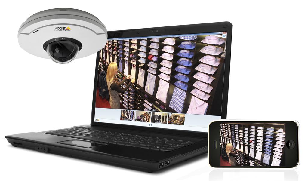 Afina distribute software for Axis network cameras Camera Companion