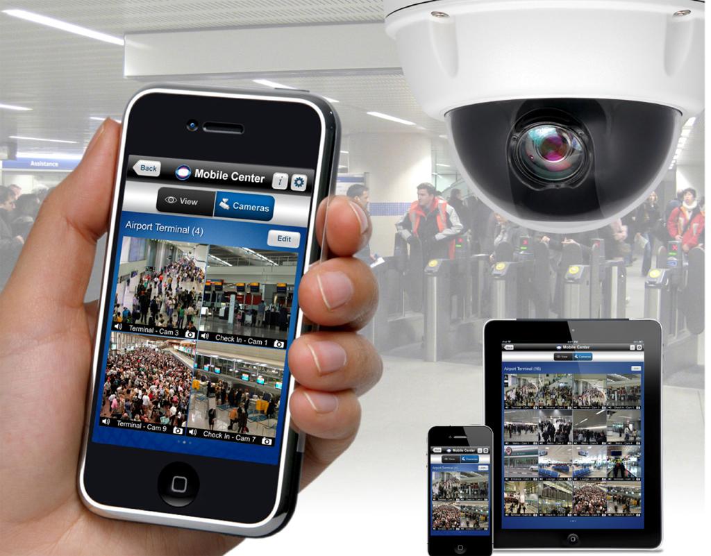 indigovision mobile center vigilancia sobre la marcha