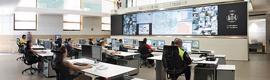La tecnología LED Full HD de Barco ayuda a vigilar el tráfico en Valencia