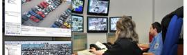 IndigoVision的减少犯罪和促进交通在捷克城市霍穆托夫流