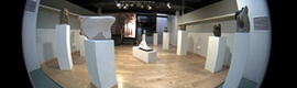 Two Mobotix cameras monitoring an art exhibition at the Polytechnic University of Valencia
