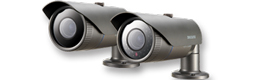 SNO-7080R, new IR bullet camera for outdoor 3 megapixel Samsung