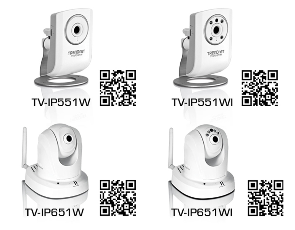 TRENDnet added to his catalog four new wireless IP cameras - Digital