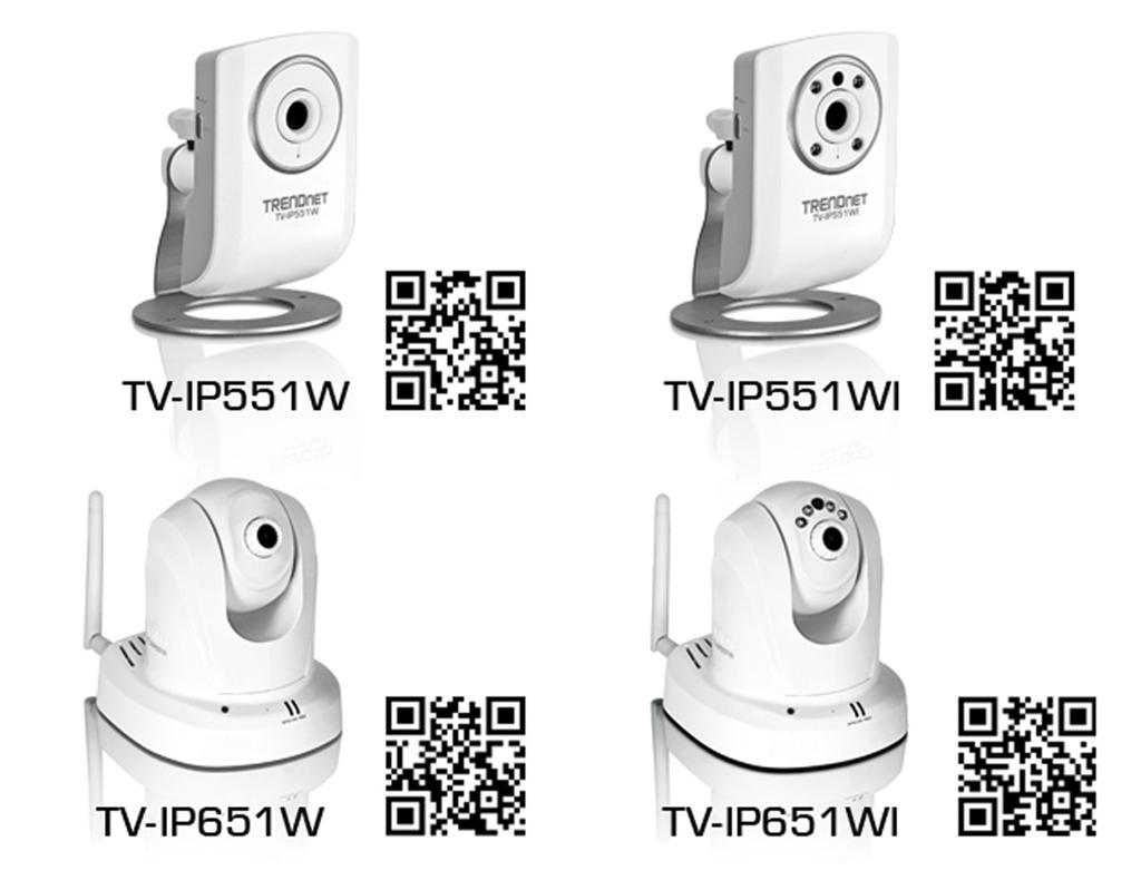 TRENDnet, seinen Katalog vier neue Wireless-IP-Kameras hinzugefügt ...