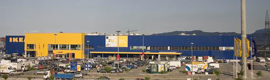 Brickcom IP cameras provide security to the IKEA store in Murcia