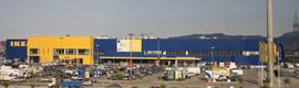 Las cámaras IP de Brickcom proporcionan seguridad a la tienda de IKEA en Murcia