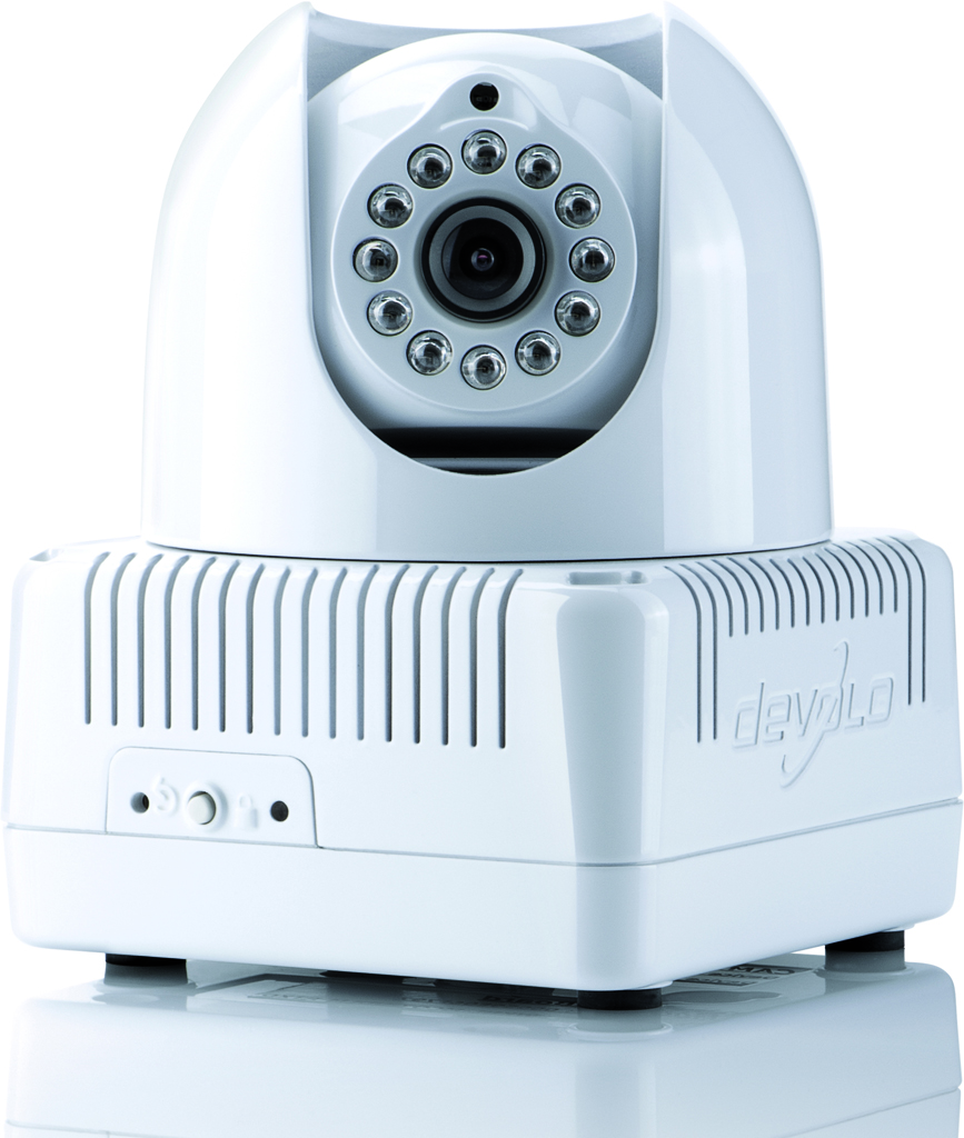 devolo brinda dLAN's live cam, his first camera based on PLC