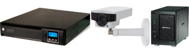 Riello UPS, Netgear Axis and come together to offer a comprehensive surveillance solution