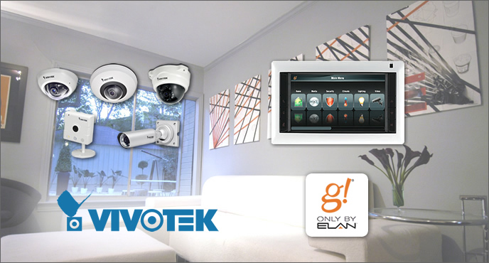 Elan home systems incorporates support for vivotek ip cameras elan home systems us manufacturer of control systems and multimedia entertainment has announced that the range g tactile display oled touch screens freerunsca Images