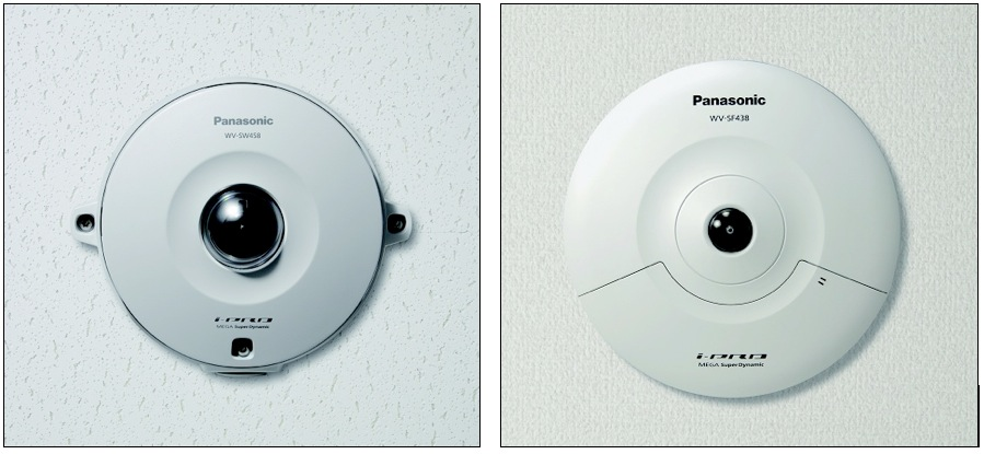 The dome i-Pro Smart HD Panasonic offer complete reliability and