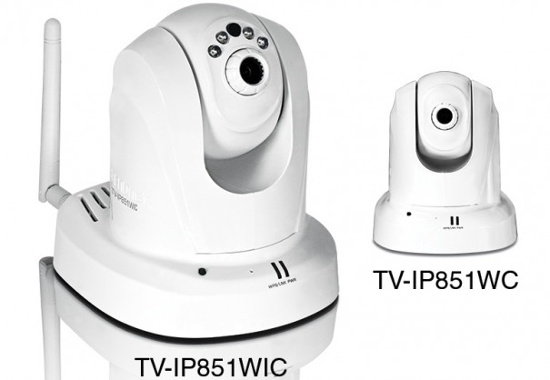TRENDnet TV-IP851WC y TV-IP851WIC