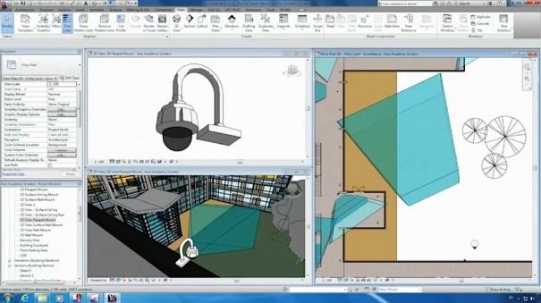 Axis Camera Families para Autodesk Revit