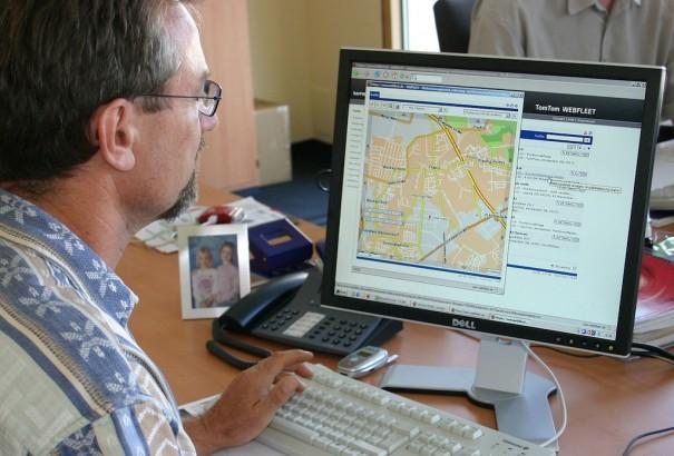 Fleet management with Tom Tom