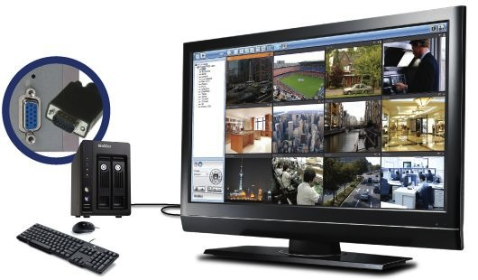 QNAP VioStor VS-2100 Pro : NVR recorder in tower for SMEs