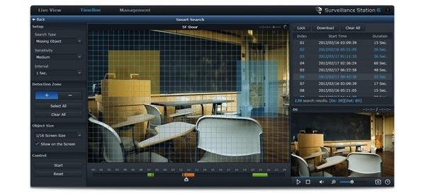 CCTV support over 1 400 cámaras IP Surveillance Station