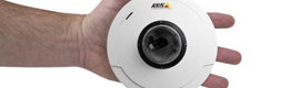 Las cameras AXIS M50-V create a safe environment in areas with large numbers of