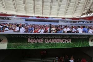 Siemens estadio Mane Garrincha Brasilia
