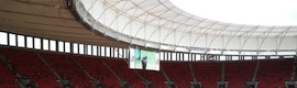 Siemens installs its security and automation solutions in the Mane Garrincha stadium in Brasilia