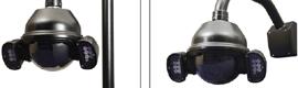 Cámara domo móvil Black Hawk IPTV025 para entornos exteriores adversos
