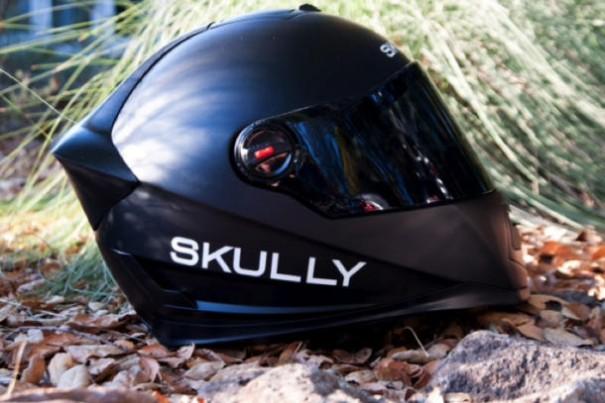 Casco moto AR de Skully Helmets