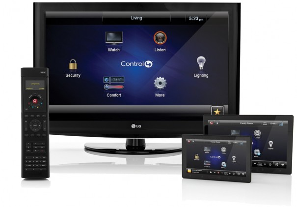 Lilin NVR Touch con Control4