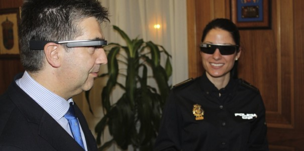 Google Glass Direccion General Policia