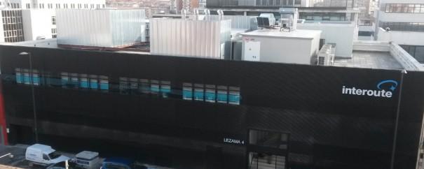 Interoute edificio en Madrid