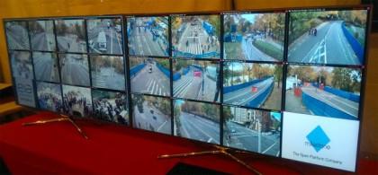 Monitores Sony a maratona de NY