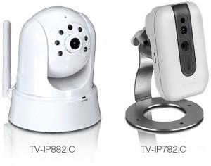 TRENDnet TV-IP882IC y TV-IP782IC