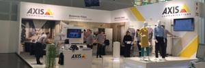 Axis llevó el concepto de cámara IP más allá del mundo de la seguridad en EuroShop 2014