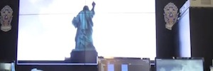 The Statue of Liberty guarantee your safety with IP video surveillance project led by Total Recall