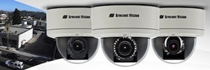 The Stellar technology increases performance Arecont Vision IP cameras without light environments