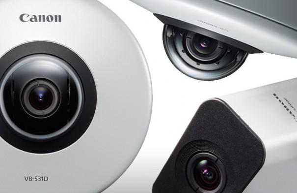 Canon IP-video-Überwachungskameras