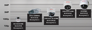 Honeywell offers a solution for every need IP security with new models in the range Equip