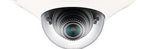 Samsung incorpora conteo de personas en la minidomo IP antivandálica NV-6013