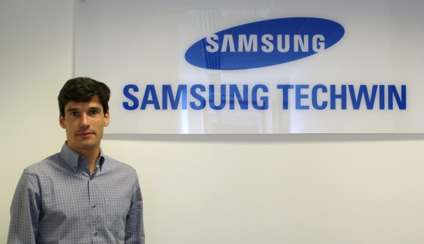 Samsung Techwin Jorge Gomez business development europe