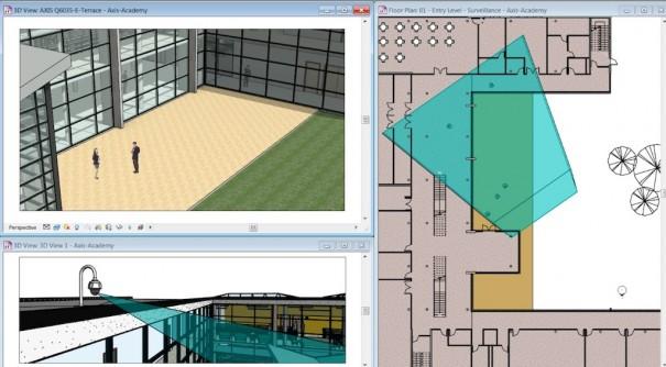 Осей SketchUp 3D CAD