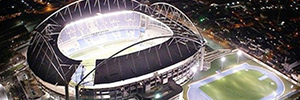 An intelligent network of Schneider Electric monitors and controls the Maracana stadium