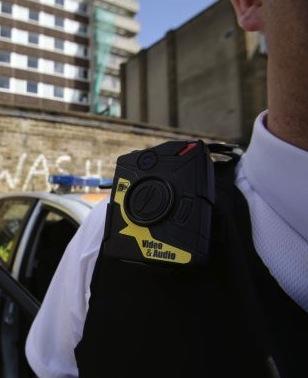 Municipal Police Taser AxonBody Madrid