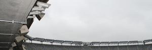Las cámaras megapíxel de Arecont Vision garantizan la seguridad en el estadio MetLife de los New York Giants