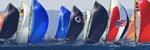 IP video surveillance cameras to monitor the Canon Sailing World Championships 2014