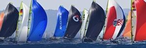 Las cámaras de videovigilancia IP de Canon supervisan el Campeonato Mundial de Vela 2014