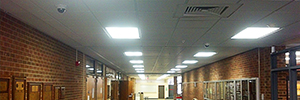 The Nebraska NBCS school implements a unified security system with Genetec, Axis y HID Global