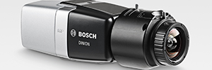 Starlight Bosch Dinion IP 8000 MP rend les images visibles 5 MP même dans l'obscurité totale