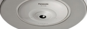 Panasonic WV-SMR10: networked microphone for audio monitoring 360 cameras integrated with IP