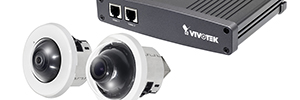 Vivotek VC8201, split system for security inside galleries, museums and retail stores
