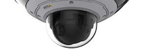 Axis Q6000-E: surveillance with 360-degree view and zoom high precision integrated with PTZ cameras